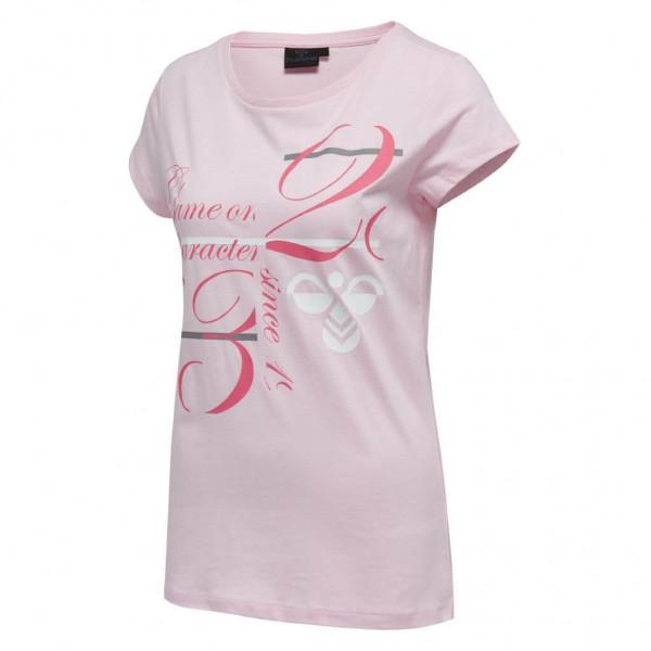 Das neue hummel Kirstine T-Shirt Women in cherry blossom