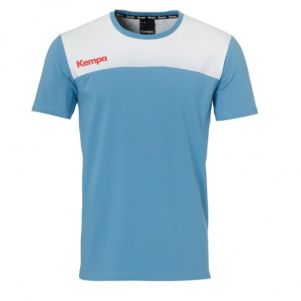 Das neue Kempa Ebbe & Flut T-Shirt in hellblau zur Handball WM 2019