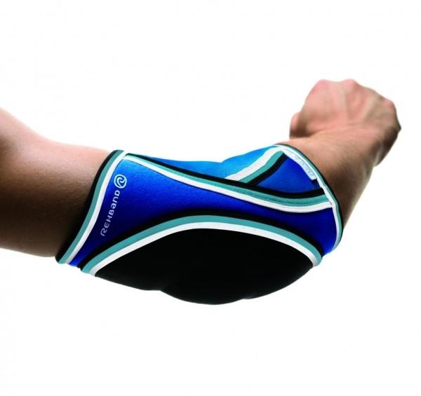 Rehband Ellenbogenschutz Handball Damen - blau
