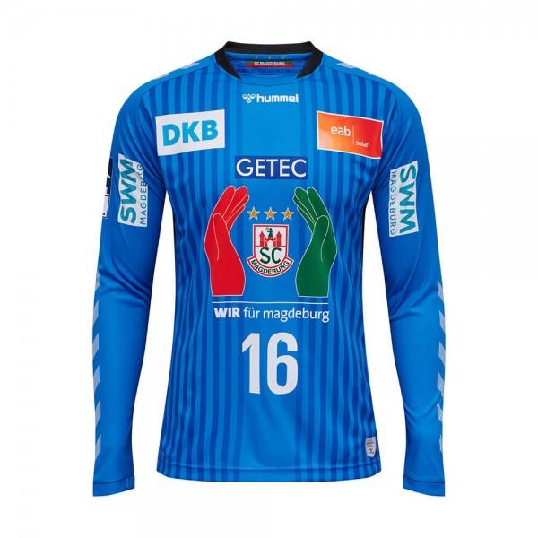 hummel SC Magdeburg Torwart Trikot 2020/21 - light blue