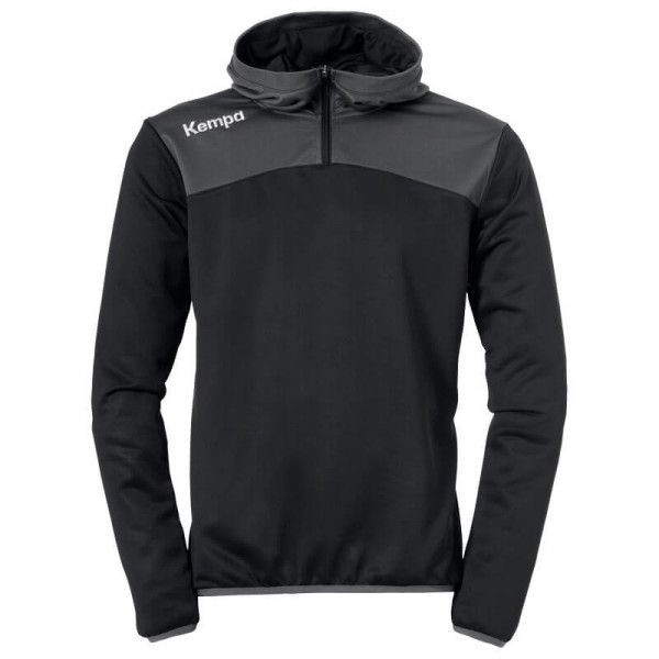 kempa-emotion-2-0-quarter-zip-hoody-schwarz