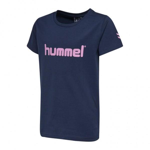 Das neue hummel Veni Mädchen T-Shirt in total eclipse kaufen