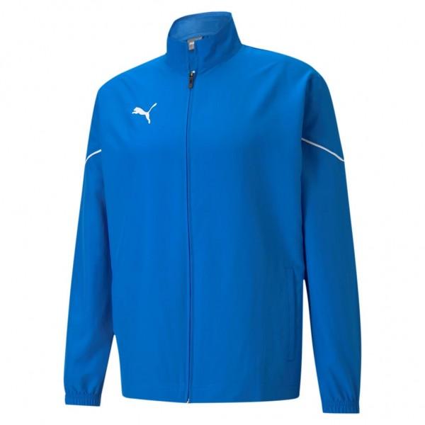 puma-teamrise-sideline-jacke-blau
