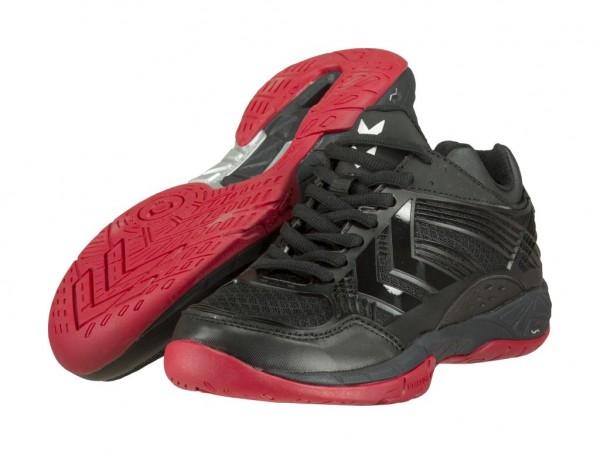 Die neuen hummel Omnicourt Z8 Handballschuhe in schwarz kaufen