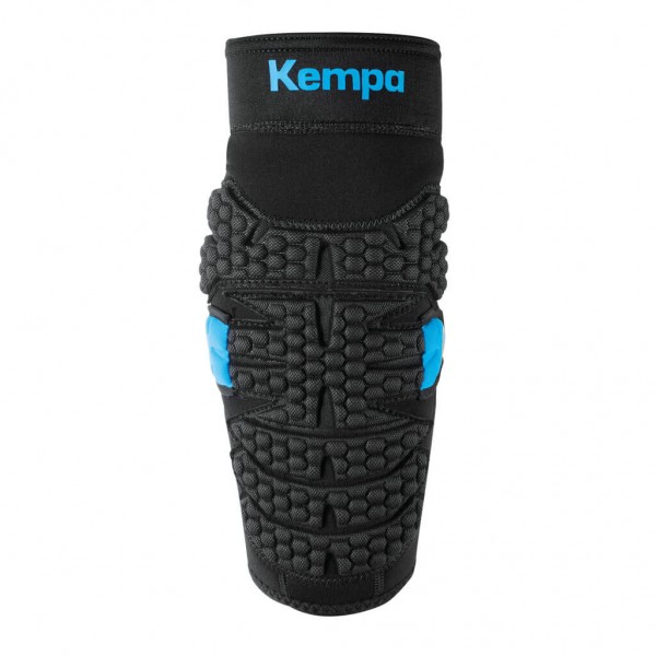 Die neuen Kempa Ellbogenprotektoren 2018 in schwarz/blau