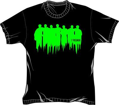 7Freunde T-Shirt Scary