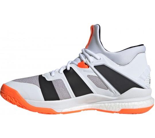 Adidas Stabil X Mid Handballschuhe halbhoch white | Adidas