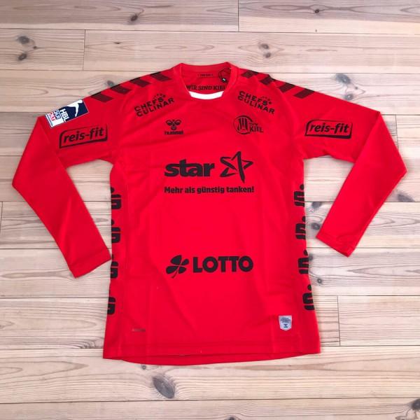 hummel THW Kiel Torwart Trikot rot 2020/21