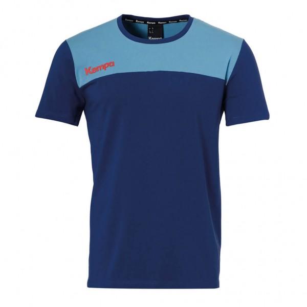 Kempa Ebbe & Flut T-Shirt in ocean blau zur Handball WM 2019