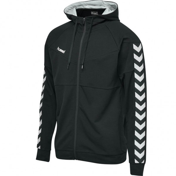hummel-court-cotton-zip-hoodie-black