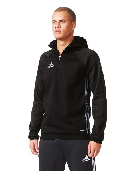 Die neue adidas Condivo 16 Fleece Jacke hält DIch warm