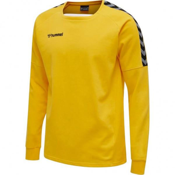 hummel-authentic-training-sweat-yellow