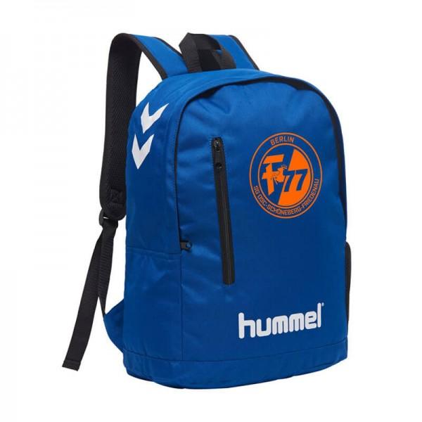 Der neue hummel SG OSF Rucksack in blau