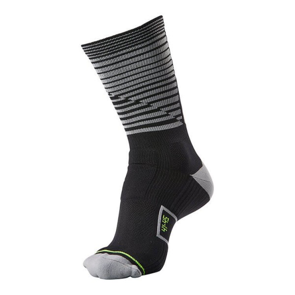 hummel Reflector Performance Socken in schwarz-grau