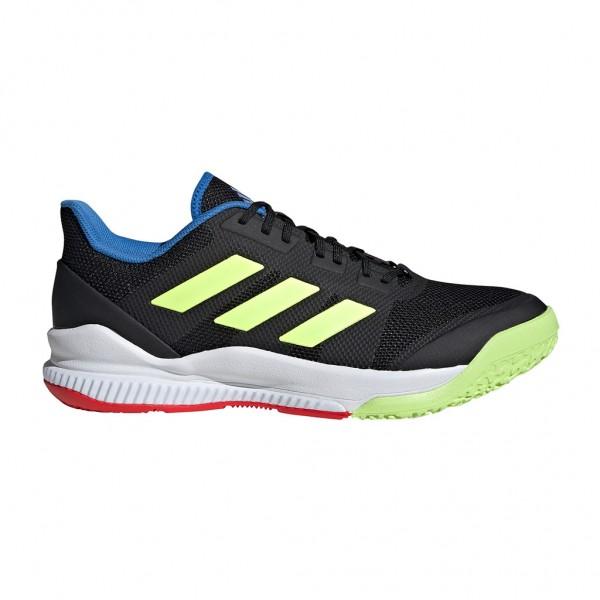 Die neuen adidas Stabil Bounce Handballschuhe in core black
