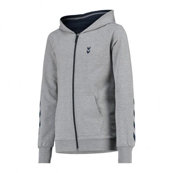 Die neue hummel Killian Zip Jacke für Kinder in grau