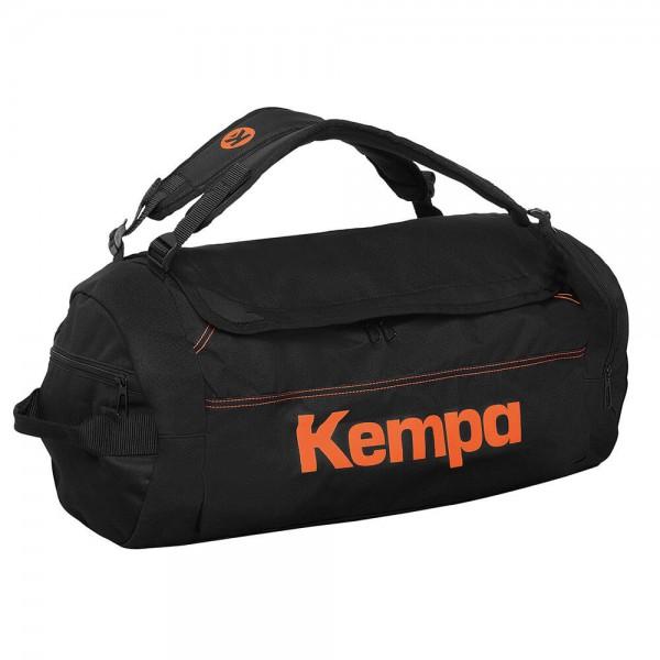 Die neue Kempa Laganda Sporttasche in schwarz/orange