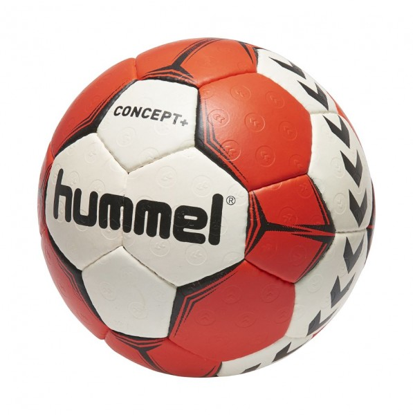 Der neue hummel Concept Plus Handball in weiss-rot bestellen