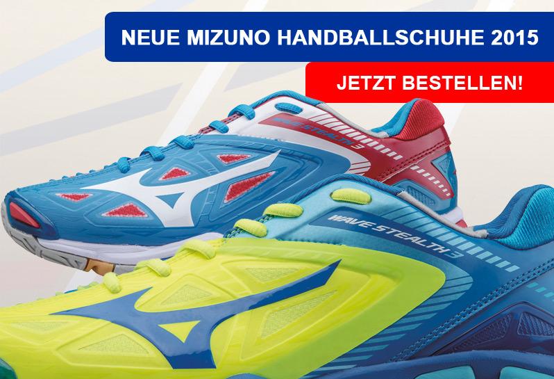 Die neuen Mizuno Wave Stealth 3 Handballschuhe für 2015