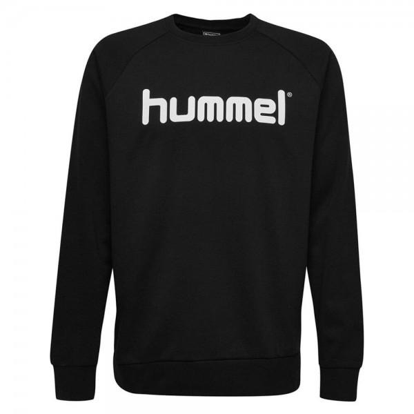 hummel-go-cotton-logo-sweat-schwarz