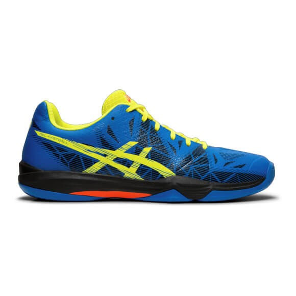 Die neuen asics Gel-Fastball 3 Handballschuhe in blau jetzt kaufen