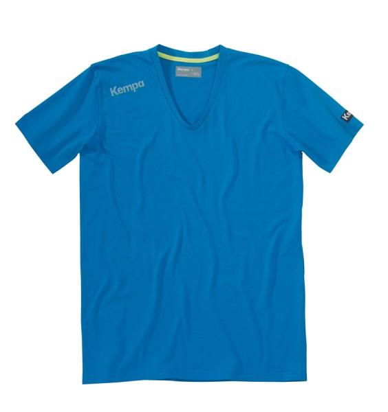 kempa-core-tee-vneck-blau