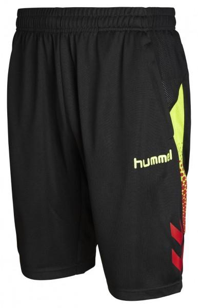 Hummel REBEL Trainings Short in schwarz/gelb