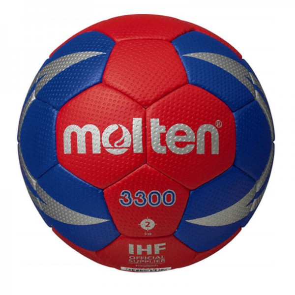 Molten Handball H-X3300 - rot/blau/silber