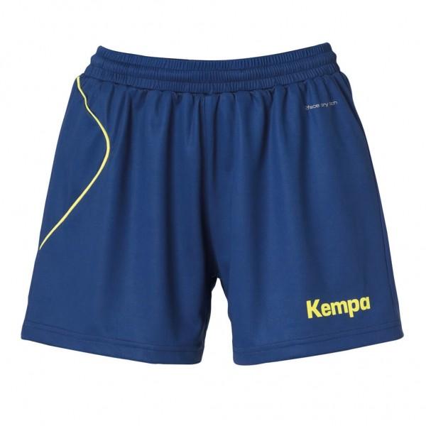 Kempa-Curve-Damen-Short-dunkelblau