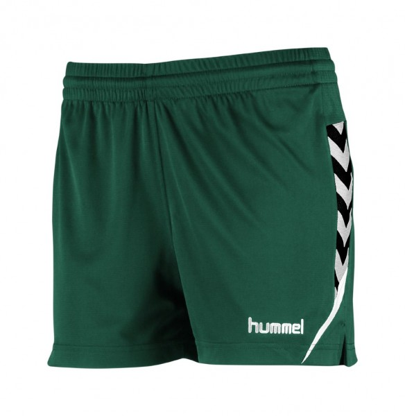 hummel-authentic-charge-damen-shorts-evergreen
