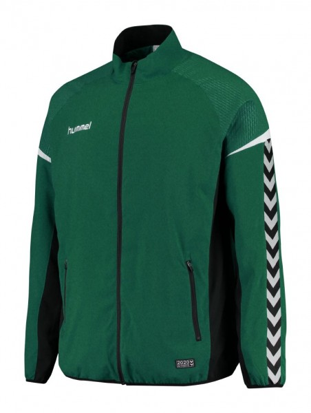 hummel-authentic-charge-micro-anzug-jacke-evergreen