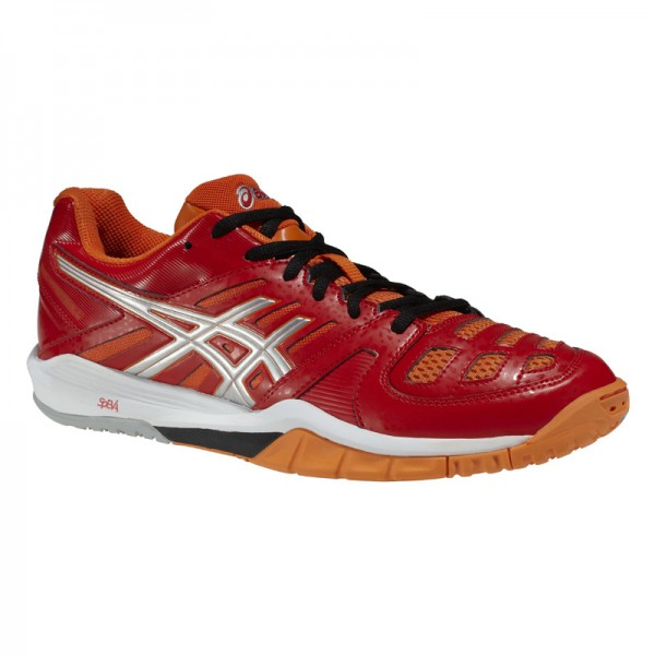 Asics Gel-Fastball Handballschuhe in flame orange