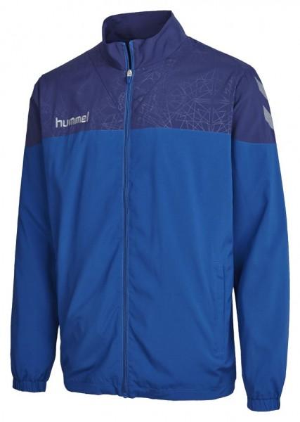 hummel-sirius-micro-jacke-blau