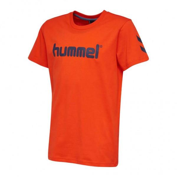Das neue hummel Jaki T-Shirt Kids in tomato
