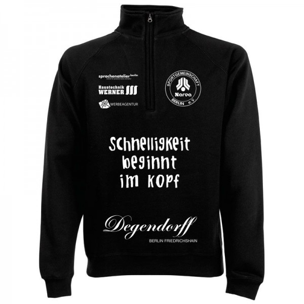 SG NARVA Berlin Half-Zip Sweat