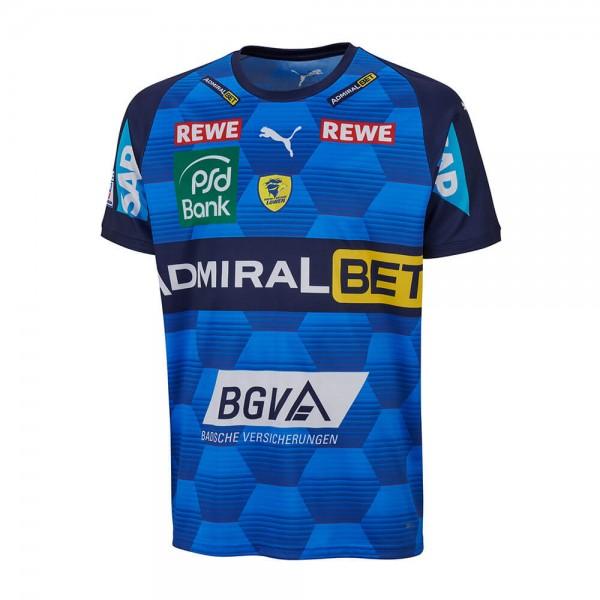 Das neue Puma Rhein Neckar Löwen Trikot in blau für 20/21
