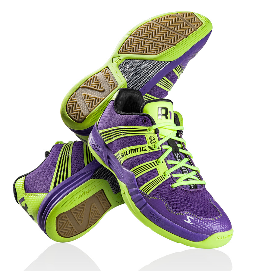Salming-Handballschuhe-Race-R1-purple