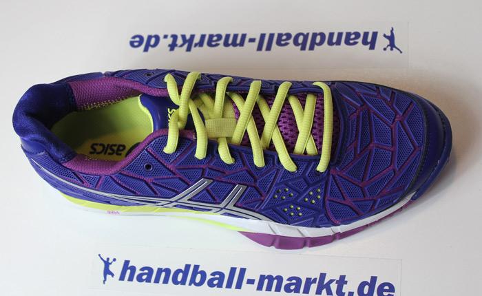 Asics GEL FIREBLAST Damen Handballschuhe clematis blue