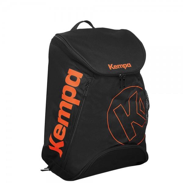 Der neue Kempa Rucksack Laganda in schwarz/orange