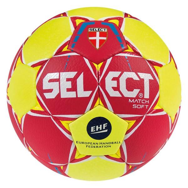 Select Match Soft Handball 2018 in rot-gelb kaufen