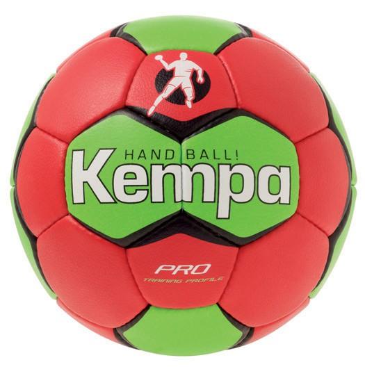Kempa PRO TRAINING Handball - rot/fluogrün - NEU