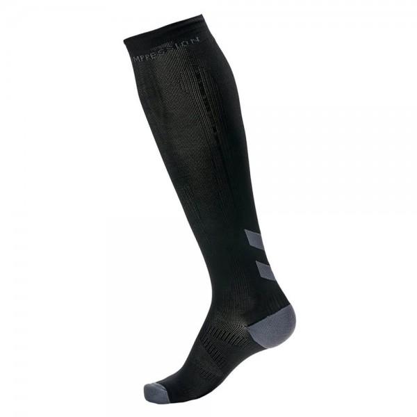 hummel-elite-compression-socke-schwarz