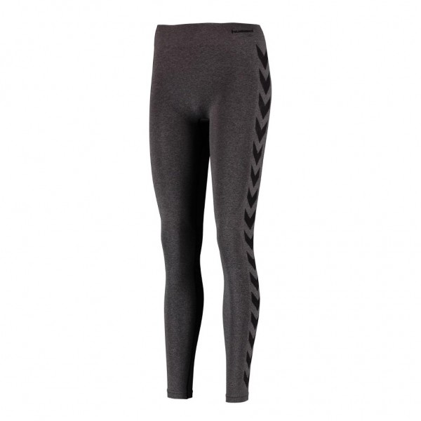 hummel Classic Bee Damen CI Seamless Tights schwarz