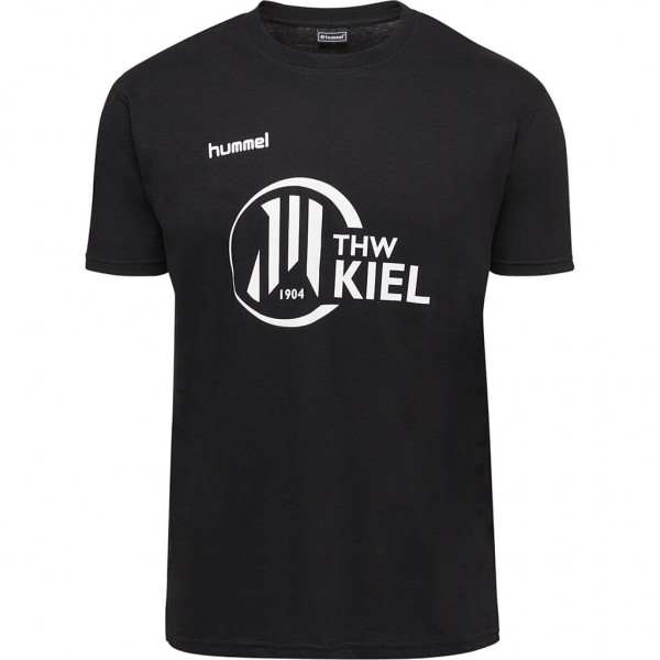 hummel THW Kiel Fan T-Shirt in schwarz