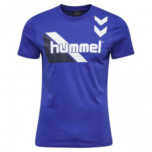 hummel Kosta T-Shirt in blau