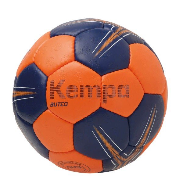Kempa Buteo Handball in orange-marine