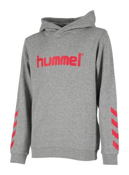 Das neue hummel Kess Hoodie für Mädchen in grau/pink kaufen