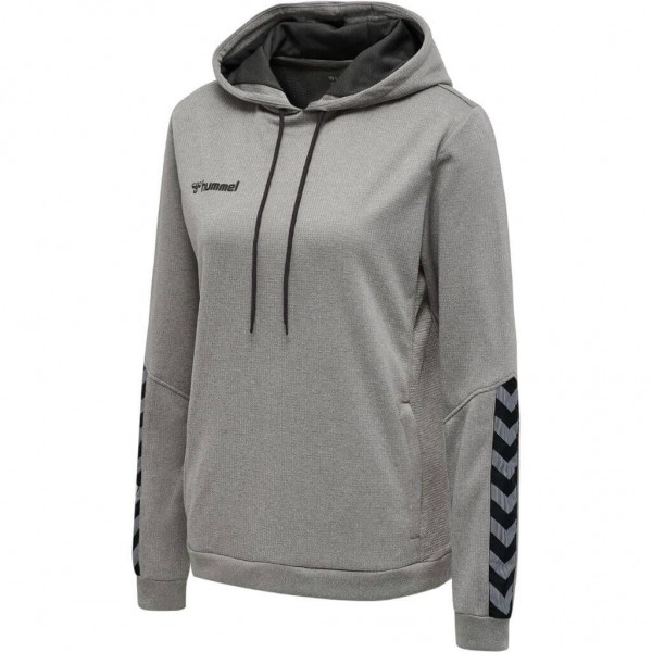 hummel-authentic-poly-hoodie-woman-grey