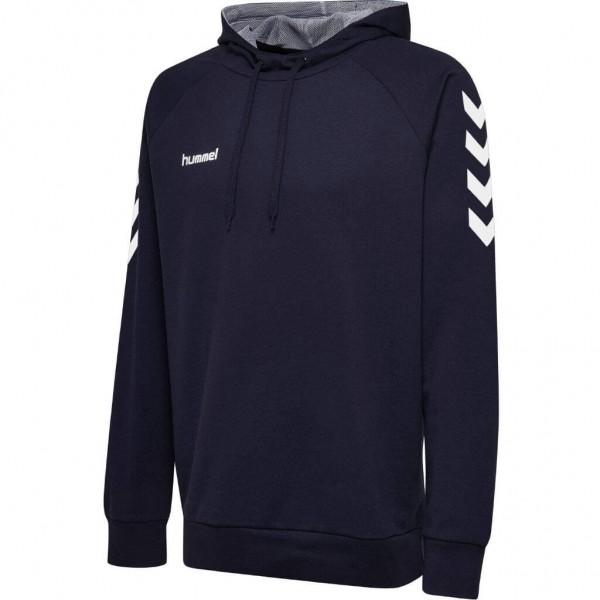 hummel-go-cotton-hoodie-navy