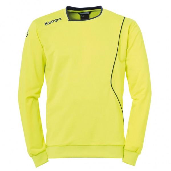 kempa-curve-sweatshirt-neongelb